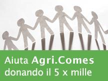 Aiuta Agricomes donando il 5x1000 (C.F. 06159140489)